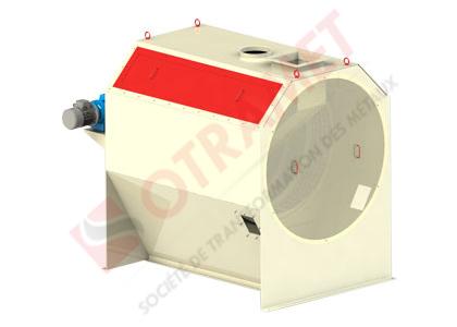 Nettoyeur à tambour rotatif
